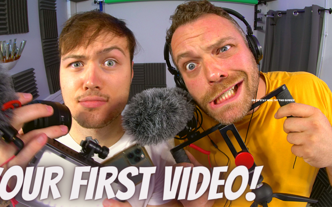 How to make your first video and what mistakes to avoid!