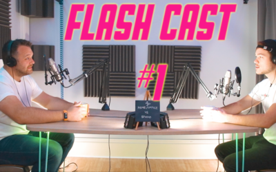 Home/Office VS Studio – Our very first Flashcast podcast!